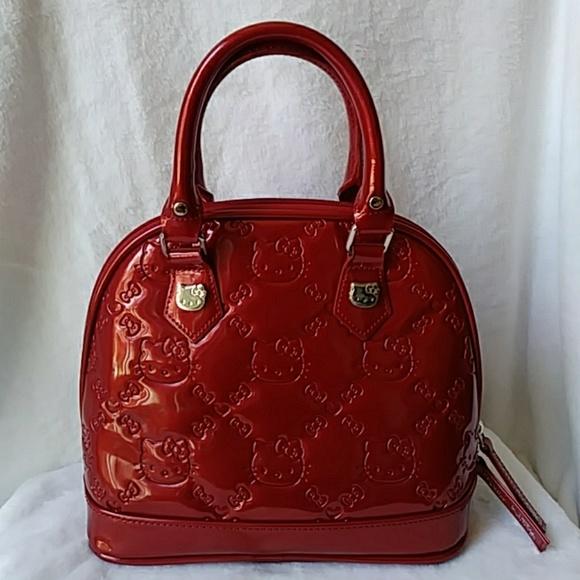 078e62434c53 Hello Kitty Handbags - 🐱Red Hello kitty x loungefly bag🐱
